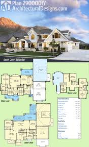 45 best house plans with sport courts images on pinterest dream