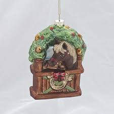 horseshoe christmas ornaments ornaments in stable ornament horseshoe christmas