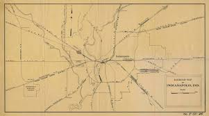 Railroad Map Railroad Maps Of Indianapolis In
