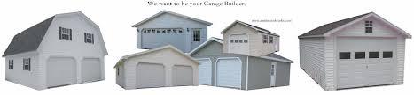 stick built garages