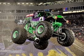 monster trucks grave digger monster jam rolls into wells fargo arena cityview