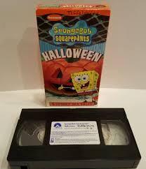 spongebob halloween games