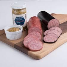 Sausage Gift Basket Summer Sausage Gift Baskets Amana Meat Shop U0026 Smokehouse