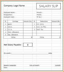 8 sample salary breakup format sales slip template