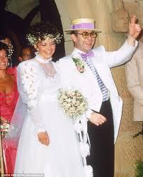 elton john u0027s bridesmaid u0027s dress from 1984 australian wedding