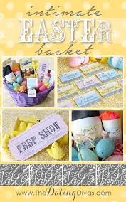 Easter Gift Baskets For Adults Intimate Easter Basket