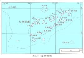 Spratly Islands Map South China Sea Islands U0026 Reefs