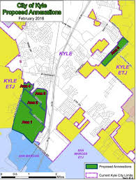kyle map faqs on kyle annexation march 2016 city of kyle official