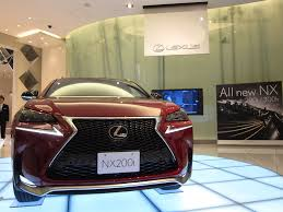 lexus matador red lexus nx 200t shows up in new matador red mica autoevolution