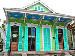 new orleans colorful houses bywater homes the world of colorful homes and doubles in new