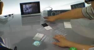 bureau tactile seamless experience un bureau interactif tactile par asus mais