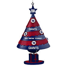 new york giants tree ornaments