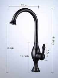 Single Handle Kitchen Faucets by Buy Asbestos Deck Mount Rotatable Antique Brass Single Handle