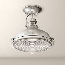 4 Ceiling Light Fixture Verndale 11 3 4 W Brushed Nickel Industrial Ceiling Light 9k005