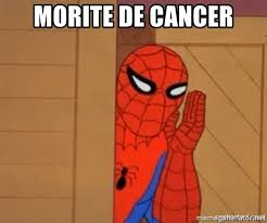 Spiderman Meme Cancer - morite de cancer psst spiderman meme generator