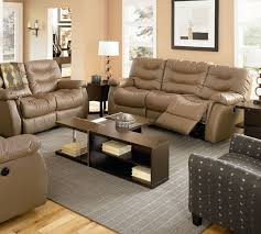 Fabric Leather Sofa Furniture Comfy Light Brown Leather Sofa And Loveseat With