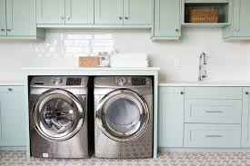 Cabinets For Laundry Room Laundry Room Sink Next To Washer And Dryer Transitional Pertaining