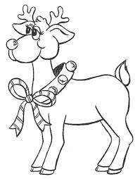 coloring reindeer color coloring pages4 reindeer color