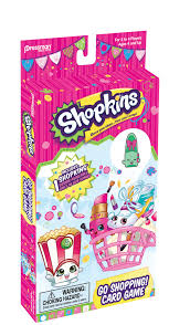 shopkins go shopping card game with character pressman