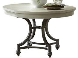 liberty furniture harbor view iii round dining table in dove gray liberty furniture harbor view iii round dining table in dove gray 731 t4254