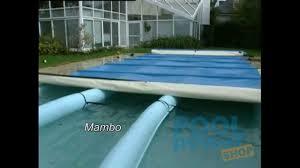 Garten Pool Aufblasbar Stangenabdeckung Calypso Mambo Youtube