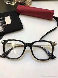 2017 brand designer prescription glasses frames g0110 men womens