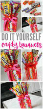 Homemade Gifts For Friends by Make Your Own Candy Bouquets For Valentines Day Fathers Day