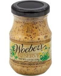 whole grain dijon mustard sweet deal on woeber s whole grain dijon mustard pack of 6 4 25 oz