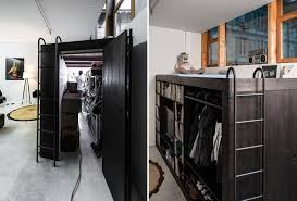 Bed And Living Living Cube An All In One Storage Solution With A Bed And Hidden