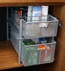 Stackable Kitchen Cabinet Organizer 2 Pack Decobros Stackable Kitchen Cabinet Organizer Ch Https