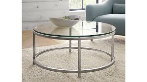 circular glass coffee table round metal coffee table with glass top for magnificent collection
