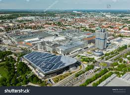 bmw germany munich germany may 11 aerial view stock photo 159607172 shutterstock