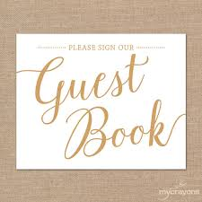 wedding signs template sign our guestbook sign printable guest book sign