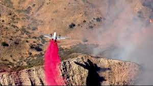 Wildfire Near Julian Ca by Fast Moving Manzanita Fire Burns 5 000 Acres 10 Percent Contained