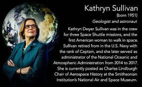 kathryn sullivan born 1951 geologist and astronaut kathryn dwyer