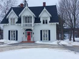 Gothic Revival Homes by 1855 Gothic Revival In Calais Maine Oldhouses Com
