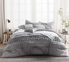 Grey Twin Bedding Tempo King Comforter