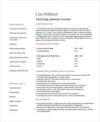 Assistant Teacher Duties For Resume Teacher Resume Template Free Resume Template And Professional Resume