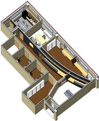 3d Office Floor Plan Davis Orthopedics U2014 Aho Architects Llc