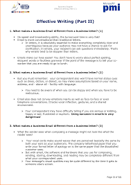 Business Email Etiquette Examples by Sample Business Email Letter Gallery Examples Writing Letter