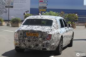 roll royce car 2018 rolls royce phantom 2018 mule 10 august 2017 autogespot