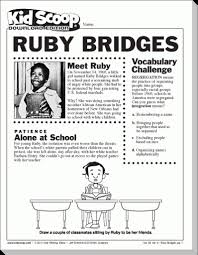ruby bridges coloring pages cecilymae