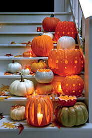 fabulous fall decorating ideas votive holder and pumpkin ideas