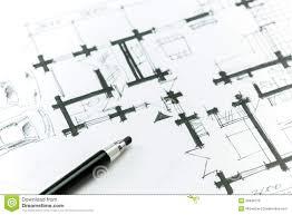 sketch house plan stock illustration image 39498779
