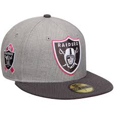 Raiders Thanksgiving Hat Oakland Raiders New Era Breast Cancer Awareness On Field 59fifty