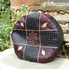 Ottoman Empire Facts Marvelous Leather Hassock Ottoman Leather Pouf Ottoman