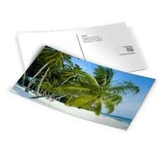 usps personalized sted envelopes and postcard design a set