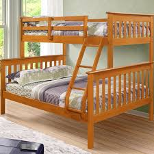 Donco Kids Twin Over Full Bunk Bed  Reviews Wayfair - Jay be bunk beds