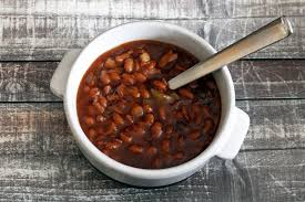 slow baked beans with molasses and bacon recipe