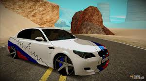 bmw m5 modified m5 e60 for gta san andreas